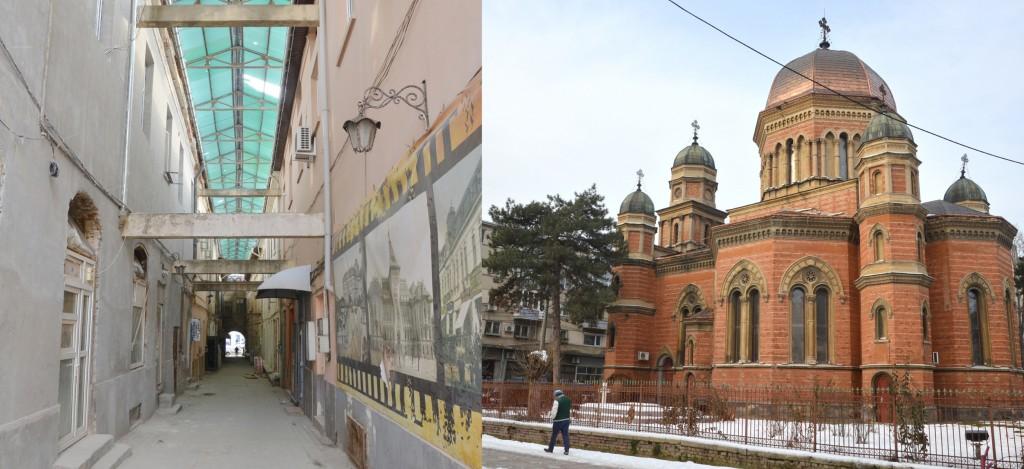 """OAR Oltenia va organiza concursuri de soluții pentru Bazarul Craiovei, dar și pentru amenajarea piațetei din jurul Bisericii """"Sfântul Ilie"""" (Foto: Lucian Anghel)"""