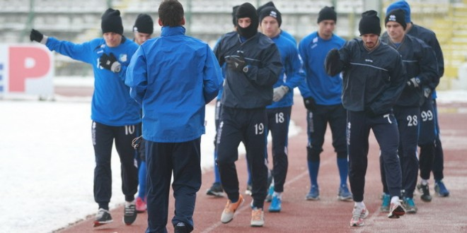 Pentru jucătorii gorjeni urmează o perioadă grea la Izvorani (foto: panduriics.ro)