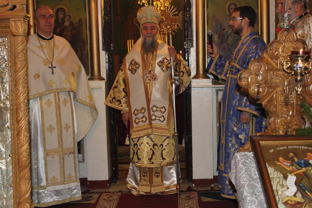 poza hramul Bisericii Sfantul Ioan Botezatorul