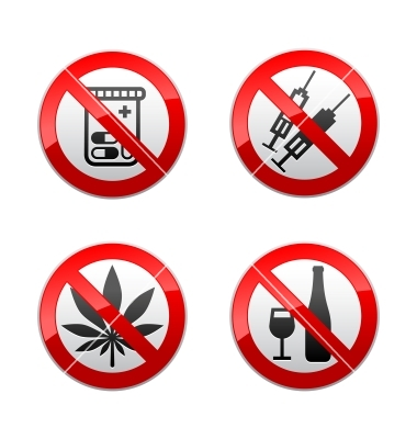 set-prohibited-signs--drugs-vector-754963
