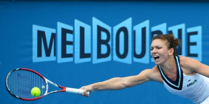 Simona Halep s-a calificat în sferturi după un joc perfect