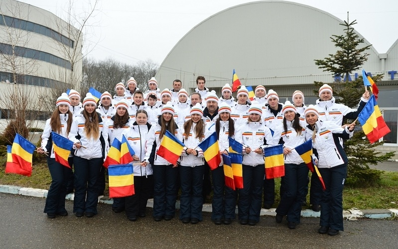 Cei 24 de sportivi care vor reprezenta România la FOTE 2015 (Foto: cosr.ro)
