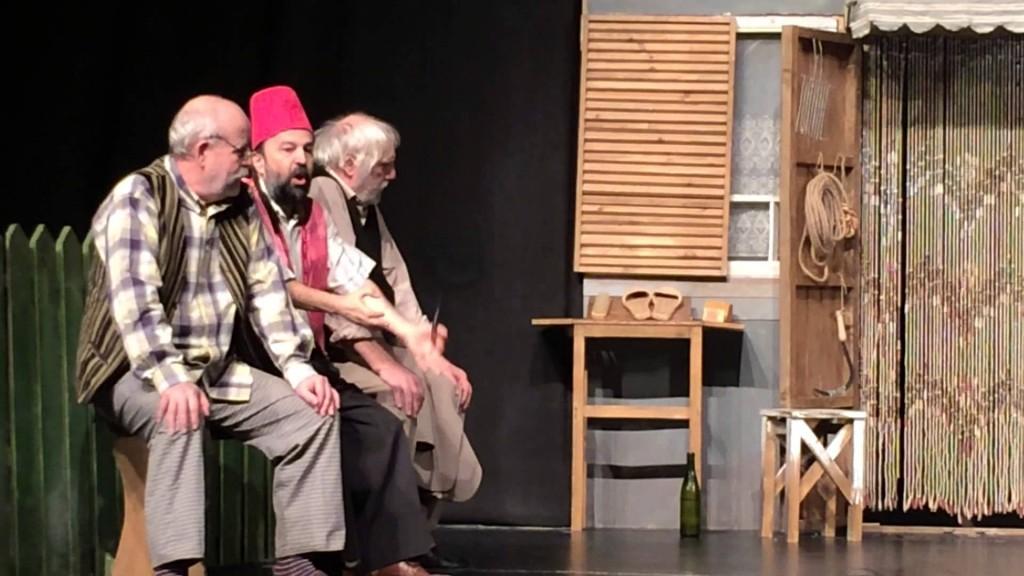 """Spectacolul """"Take, Ianke și Cadîr"""" îi aduce pe Ioan Gyuri Pascu, Nicolae Urs şi Doru Ana pe scena craioveană"""