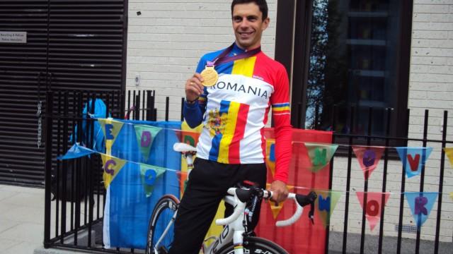 Eduard Novak a cucerit medalia de aur la Jocurile Paralimpice de la Londra din 2012