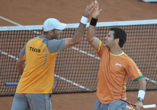Tecău (stânga) și Rojer s-au impus la Indian Wells