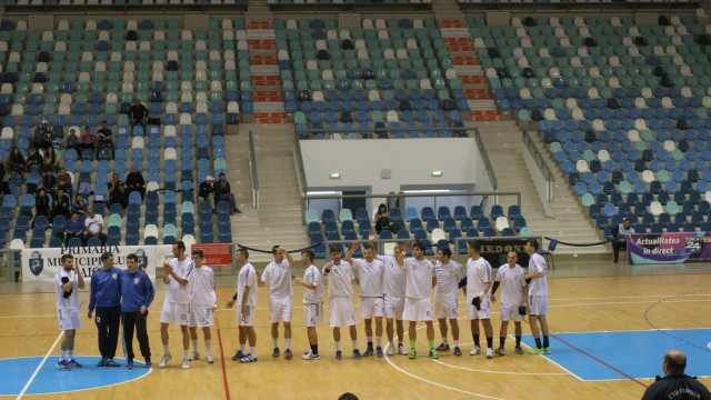 Handbaliştii craioveni au obţinut a zecea victorie din acest sezon (foto: arhiva GdS)