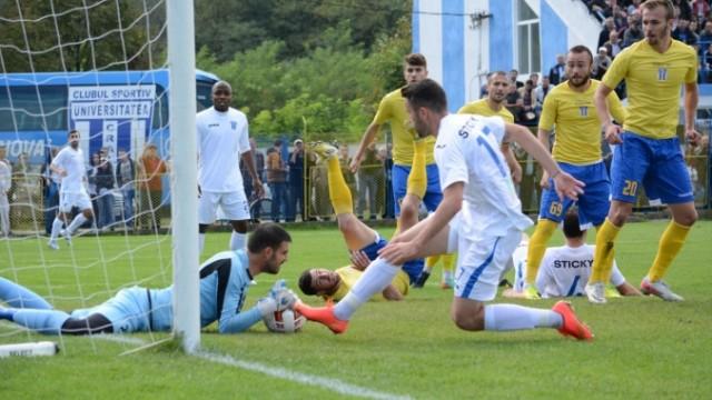 Craiovenii (în alb) vor juca un amical cu FC Caransebeş