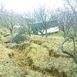 Alunecările au afectat întreaga zonă ()