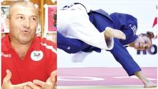 Florin Bercean consideră că sportiva craioveană Monica Ungureanu (în albastru) are şanse mari de calificare la Jocurile Olimpice