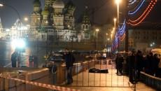 Locul unde a fost împușcat mortal opozantul rus Boris Nemțov (Foto: theguardian.com)