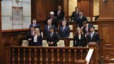 Cabinetul Gaburici a primit ieri votul de încredere al Parlamentului Republicii Moldova (Foto: tribuna.md)