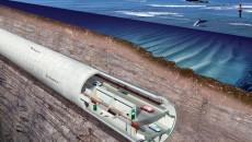 Proiectul pentru noul tunel care va fi construit pe sub Strâmtoarea Bosfor (Foto: http://inzynieria.com)