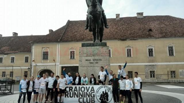Sportivii de la Craiova Running Club au încheiat cu bine cursa