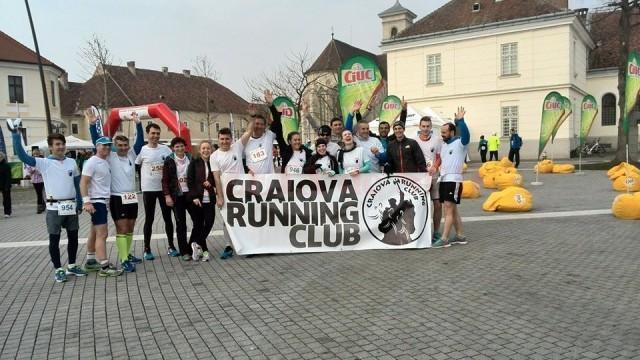 Sportivii de la Craiova Running Club au fost prezenți în număr mare la Alba Iulia
