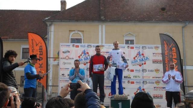 Marius Bușcă a ocupat locul întâi la cros (categoria masculin 35-50 de ani)