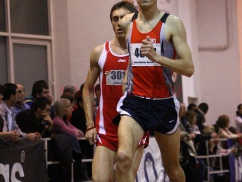 Marius Bușcă, un sportiv perseverent