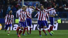 Jucătorii lui Atletico s-au bucurat intens după epuizarea loviturilor de la 11 metri (foto: uefa.com)
