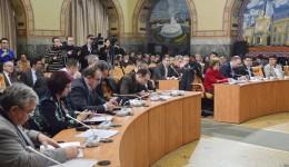 Consilierii locali ai Craiovei nu au inițiat nici un proiect de hotărâre în actualul mandat. Toate proiectele, 1.928 la număr, au fost inițiate de primarul Craiovei. (Foto: GdS)