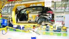 Cea mai mare parte a componentelor Ford B-Max nu sunt produse în România, ci sunt aduse din alte țări, preponderent  din Germania (FOTO: Arhiva GdS)