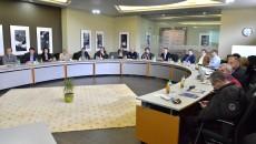 """Reprezentați ai instituțiilor și companiilor craiovene partenere în cadrul proiectului """"Adoptă un liceu"""" s-au întâlnit pentru a pune la punct planurile viitoare (Foto: Claudiu Tudor)"""