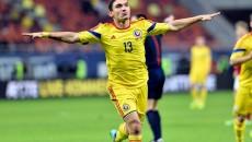 Claudiu Keşeru a fost oportunist în meciul cu Feroe (foto: onlinesport.ro)