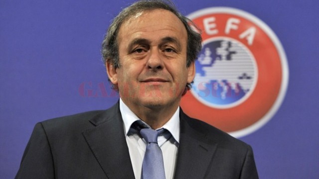 Michel Platini a fost realeas președinte al UEFA