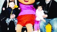Ionela Popescu alături de familie (FOTO: Arhiva personală Ionela Popescu)