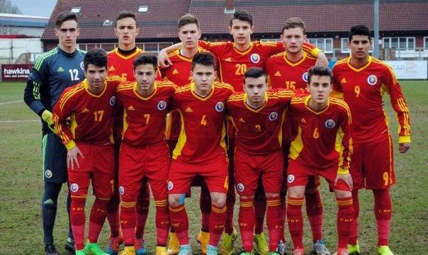 Tricolorii sub 17 ani nu au aflat nici măcar cum arată golul la Turneul de Elită (foto: frf.ro)