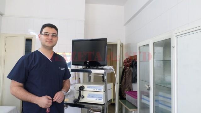 Alin Demetrian, șeful Clinicii Chirurgie Toracică a SJU Craiova, este un medic tânăr care dorește să arate că și în Craiova se pot realiza multe dacă există voință