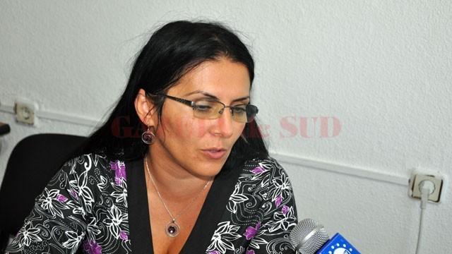 Georgeta Popescu, purtătorul de cuvânt al Inspectoratului Şcolar Judeţean Gorj