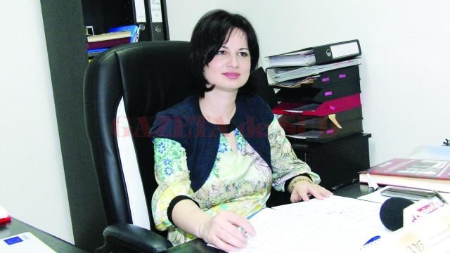 Lavinia Craioveanu, inspector şcolar general adjunct la ISJ Dolj (FOTO: GdS)