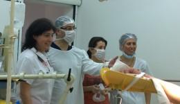 Aceasta este echipa de medici craioveni care a realizat operația în premieră națională la Craiova
