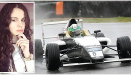 Alexandra Marinescu este prima fată din lume care atacă Formula 4. Ținta finală a craiovencei este Formula 1.