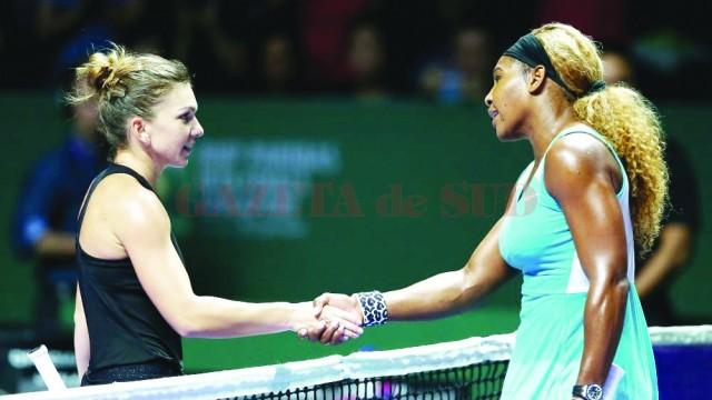 Simona Halep şi Serena Williams sunt nerăbdătoare să se întâlnească pentru prima dată în 2015