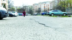 O stradă din Brazda lui Novac uitată de primărie (Foto: Traian Mitrache)