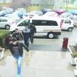 Poliţiştii au ridicat pentru cercetări 28 de persoane acuzate că au furat sau comercializat combustibilul sustras din conductele Petrofac (Foto: Eugen Măruţă)
