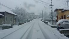 Zăpada a revenit la Novaci – Rânca