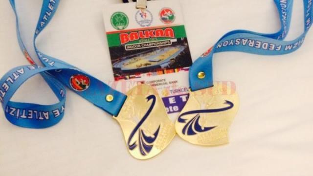 Cele mai recente medalii cucerite Adelina Pastor, două titluri la Campionatul Balcanic