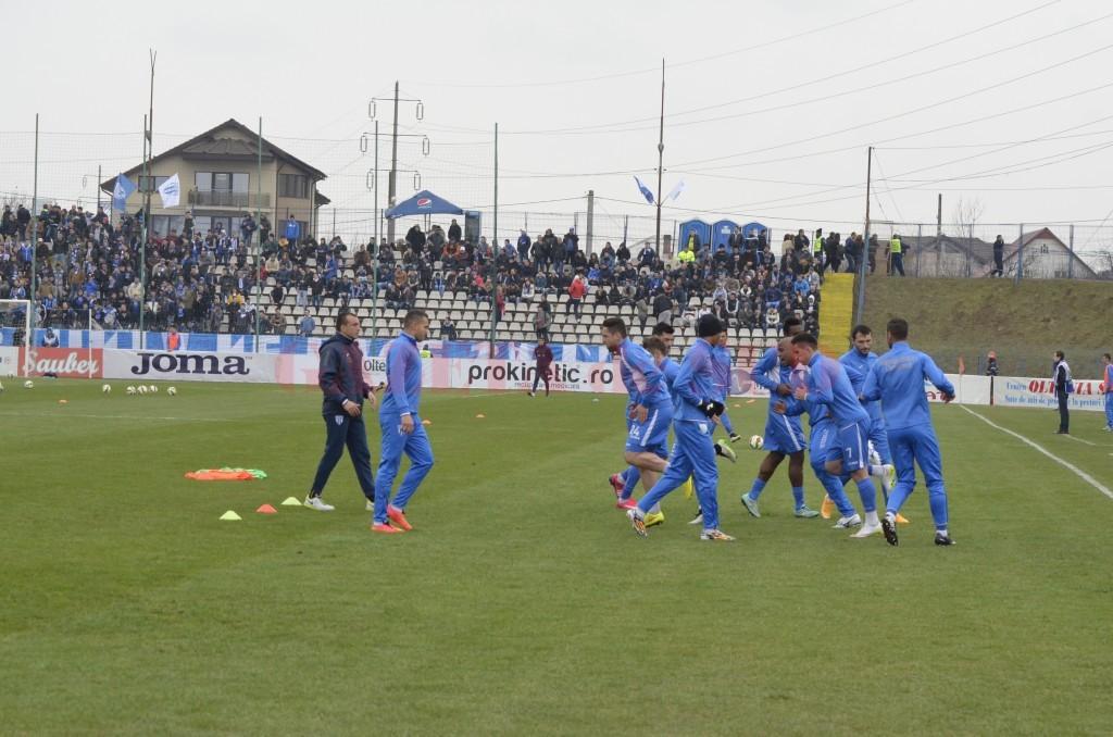 Craiovenii pregătesc cu atenție meciul cu Dinamo (foto: Alexandru Vîrtosu)