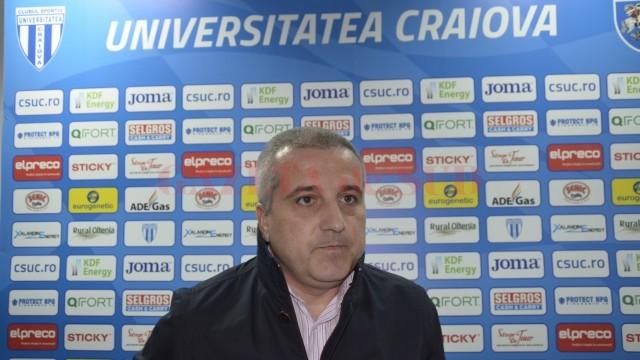 Felix Grigore a afirmat că sunt șanse mari ca decizia UEFA să fie schimbată la TAS (foto: Alexandru Vîrtosu)