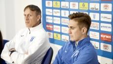 Emil Săndoi şi Bogdan Vătăjelu îşi doresc toate punctele puse în meciul de la Chiajna (Foto: Alexandru Vîrtosu)