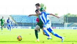 Bawab a marcat al şaptelea gol în tricoul alb-albastru (Foto: arhiva GdS)
