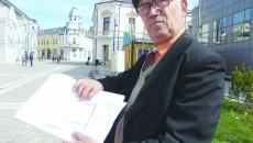 Luchian Drăgoescu este nemulțumit că i se rețin două treimi din pensie și nu doar jumătate, cât ar fi legal