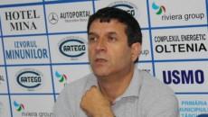 Eugen Pârvulescu, preşedintele suspendat al Clubului Pandurii