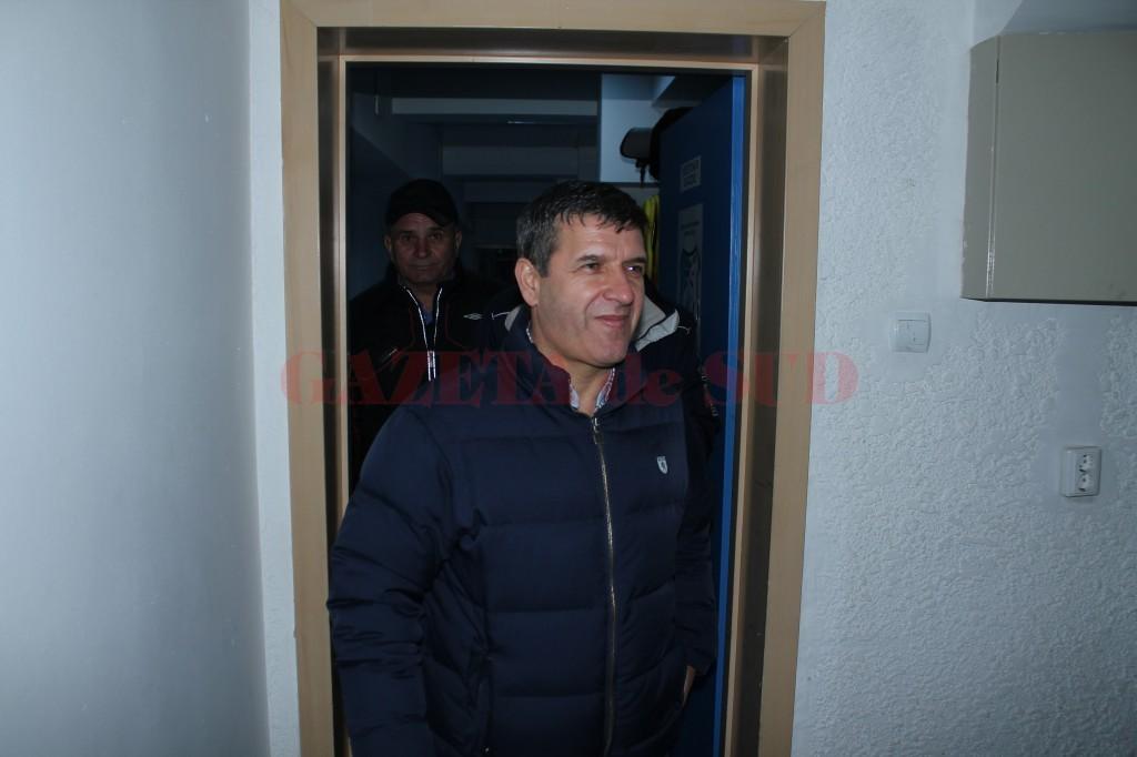 Eugen Pârvulescu, bănuit că a aranjat meciul Pandurii - Universitatea Cluj