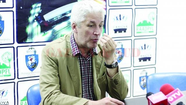 Antrenorul Dan Pascu abia aşteaptă primele meciuri cu Dinamo (Foto: Traian Mitrache)