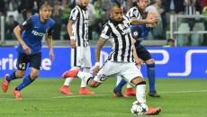 Arturo Vidal a făcut diferenţa în meciul cu AS Monaco (foto: uefa.com)
