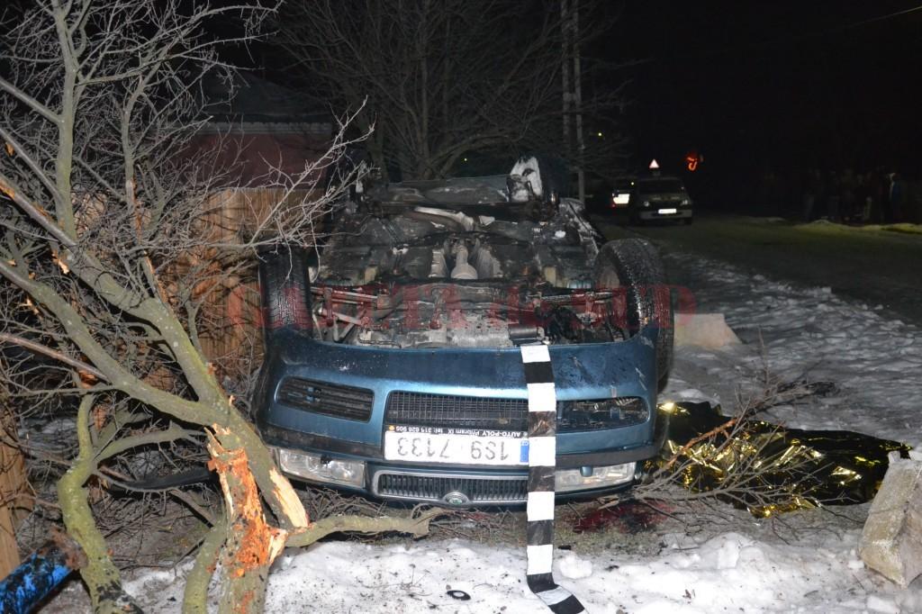 În urma accidentului provocat de Trancă, o fată de 14 ani și-a pierdut viața (Foto: Arhiva GdS)