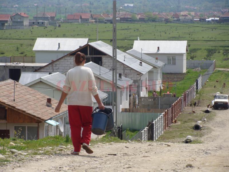 Nu toţi sinistraţii vor să se mute în Câmpu Mare (Foto: Eugen Măruţă)