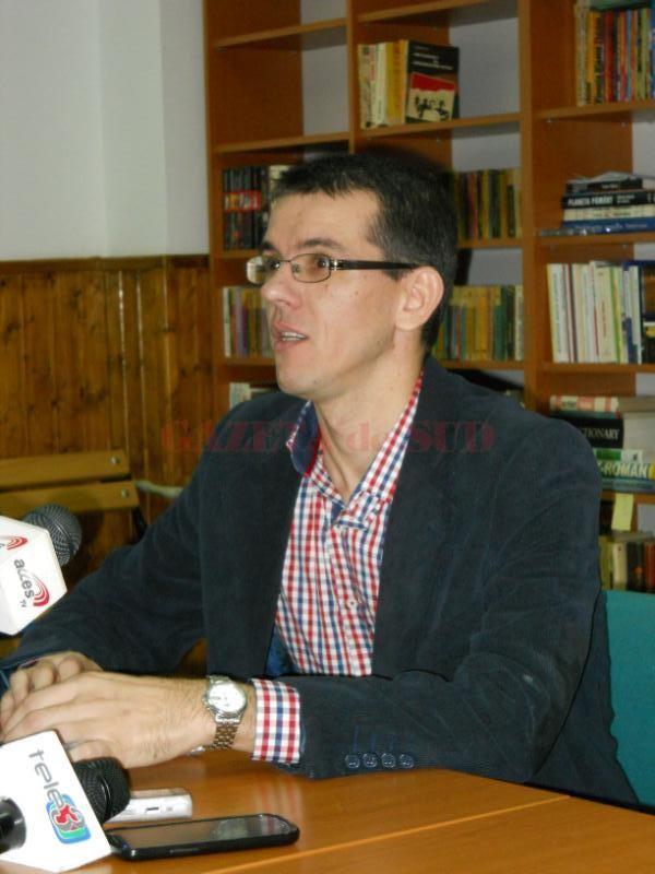 Daniel Andrei, preşedintele Asociaţiei Române de Hemofilie